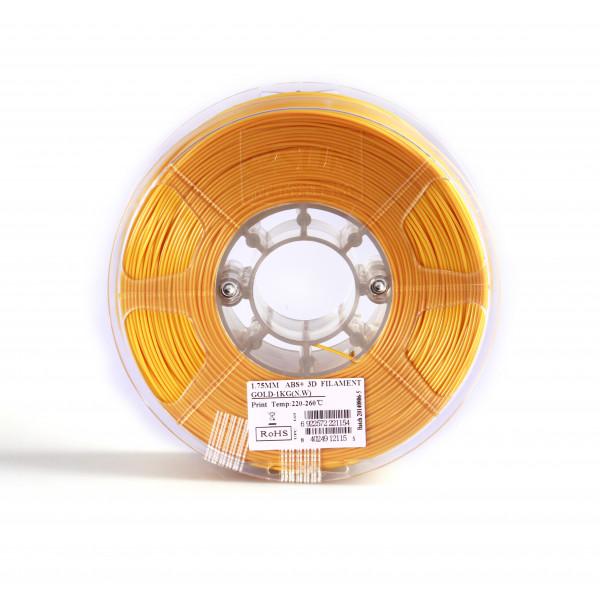 ABS+ пластик 1.75 1кг Esun золотой