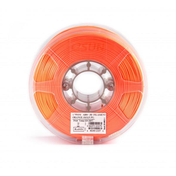 ABS+ пластик 1.75 1кг Esun оранжевый