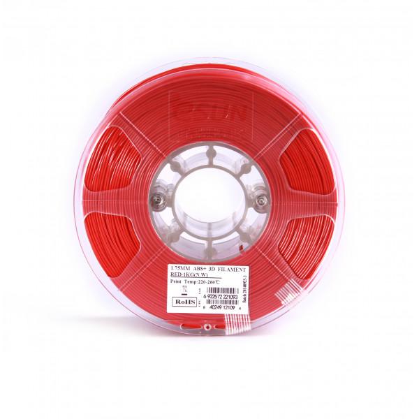ABS+ пластик 1.75 1кг Esun красный