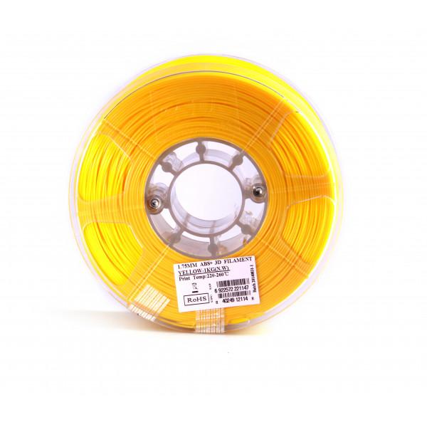 ABS+ пластик 1.75 1кг Esun желтый