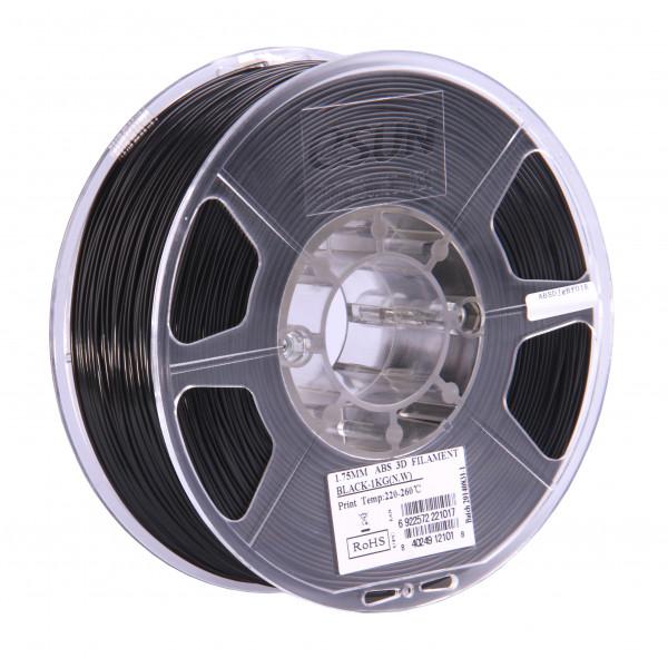 ABS+ пластик 1.75 1кг Esun черный