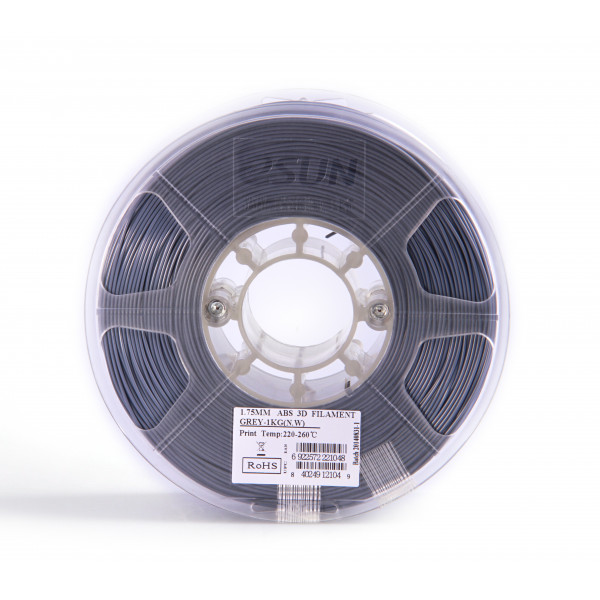 ABS пластик 1.75 1кг Esun серый