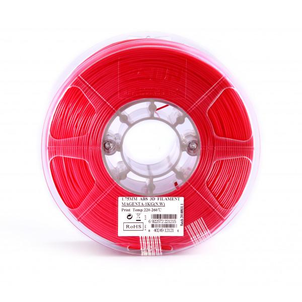 ABS пластик 1.75 1кг Esun пурпурно-красный