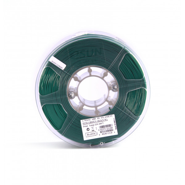 ABS пластик 1.75 1кг Esun темно-зеленый
