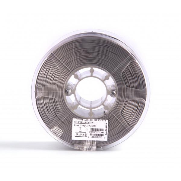 ABS пластик 1.75 1кг Esun серебристый