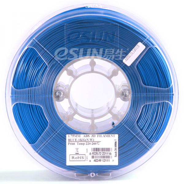 ABS+ пластик 1.75 1кг Esun синий