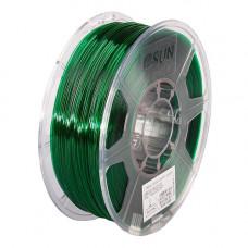 PETG пластик 1.75 1кг Esun зеленый