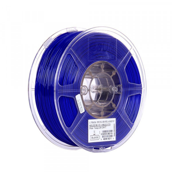 PETG пластик 1.75 1кг Esun синий н/п