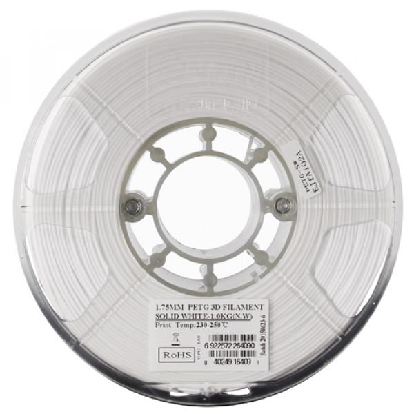 PETG пластик 1.75 1кг Esun белый н/п