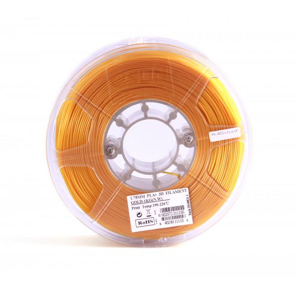 PLA+ пластик 1.75 1кг Esun золотой