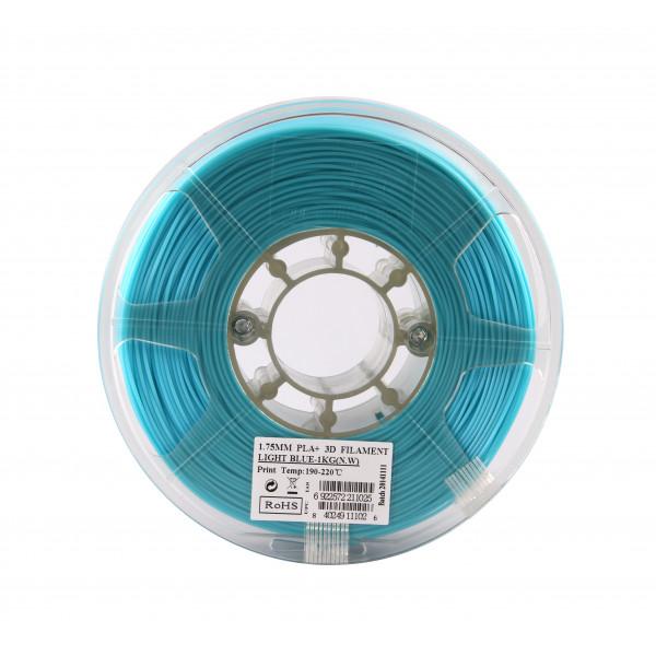 PLA+ пластик 1.75 1кг Esun голубой