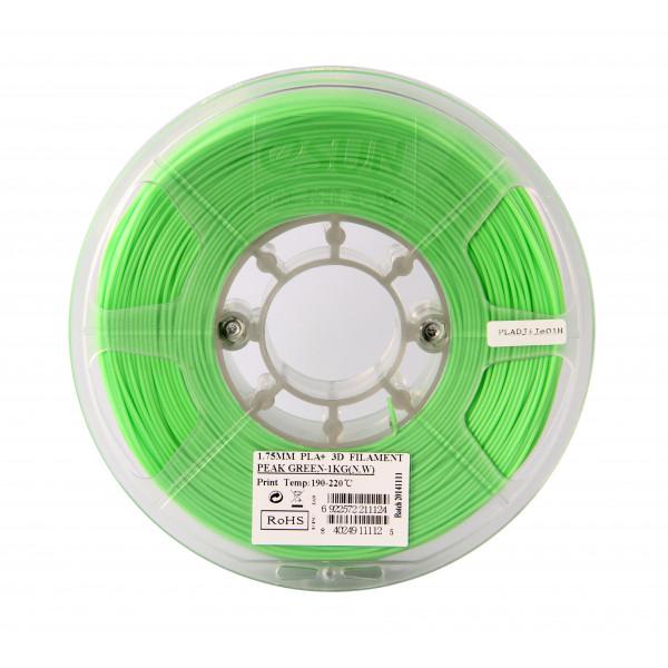 PLA+ пластик 1.75 1кг Esun салатовый