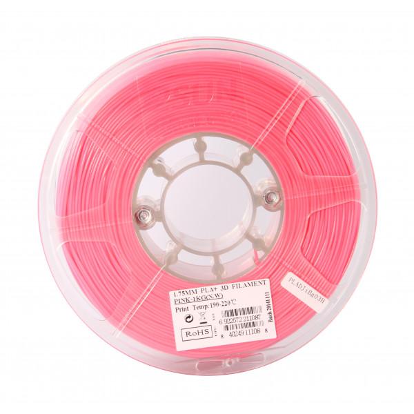 PLA+ пластик 1.75 1кг Esun розовый