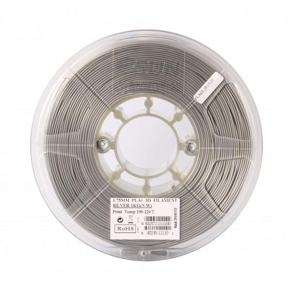 PLA+ пластик 1.75 1кг Esun серебристый