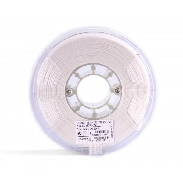 PLA+ пластик 1.75 1кг Esun белый