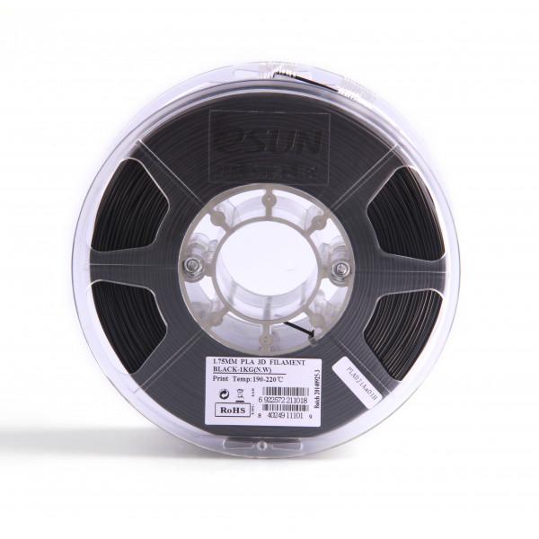 PLA пластик 1.75 1кг Esun черный