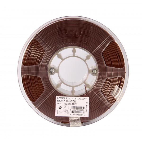 PLA пластик 1.75 1кг Esun коричневый