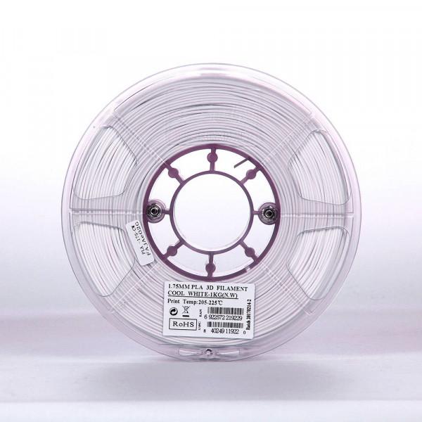 PLA пластик 1.75 1кг Esun холодный белый