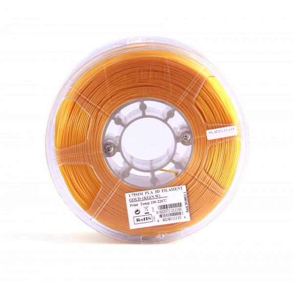 PLA пластик 1.75 1кг Esun золотой