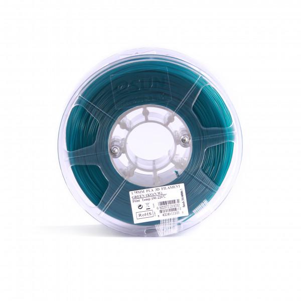 PLA пластик 1.75 1кг Esun зеленый