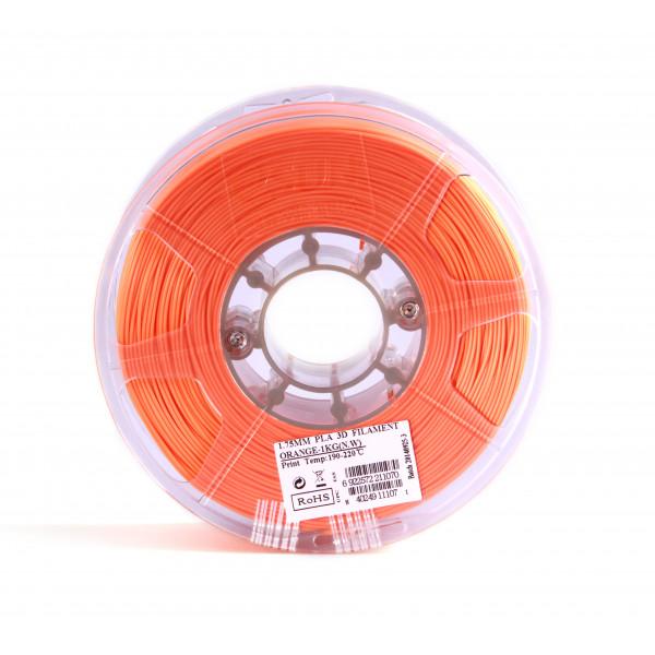 PLA пластик 1.75 1кг Esun оранжевый