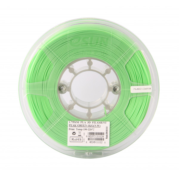 PLA пластик 1.75 1кг Esun салатовый