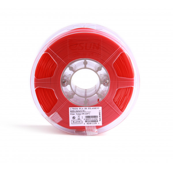 PLA пластик 1.75 1кг Esun красный