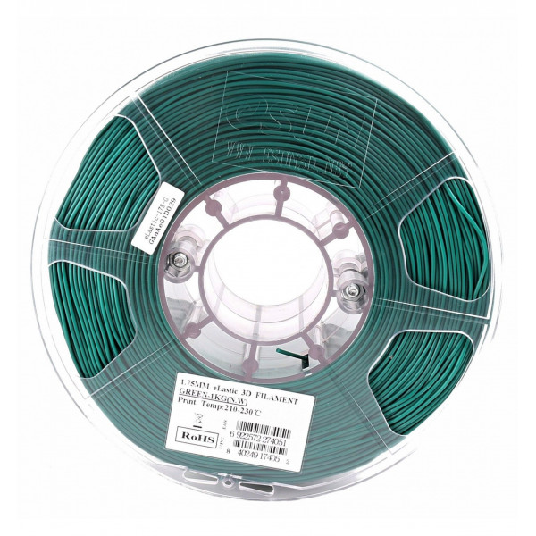 eLastic Esun, 1.75 мм, 1 кг,  зеленый