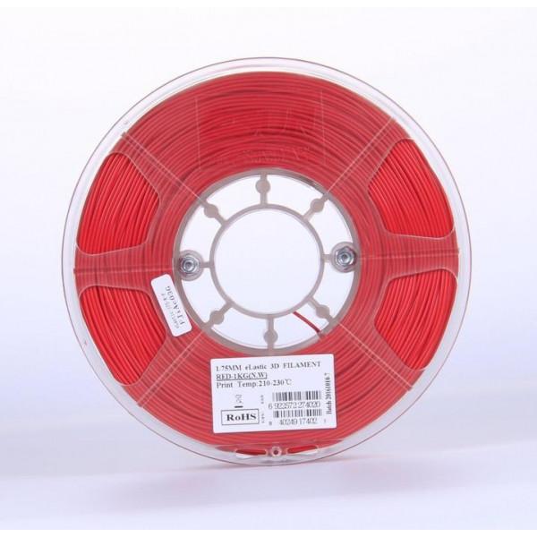eLastic Esun, 1.75 мм, 1 кг,  красный